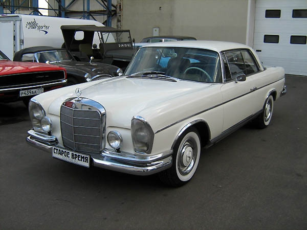 1967 MB 300 SE/ W112 coupe